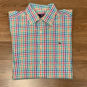 Vineyard Vines Slim Fit L/S Casual Dress Shirt M